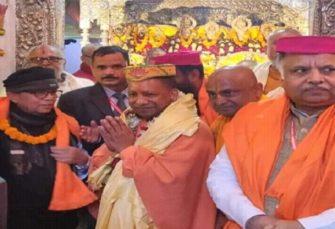 महवीर मंदिर पहुंचे यूपी के सीएम योगी आदित्यनाथ, पार्टी की हार पर कही ये बड़ी बात